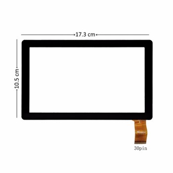 Jauno 7 collu Touch Screen Panelis Digitizer Stikla bitmore LineTab 701QC 701], QC,
